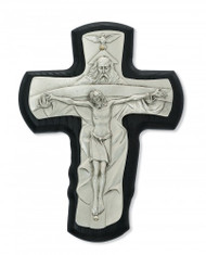 "TRINITY BLACK STAINED 5-1/2"" CRUCIFIX 81-43"