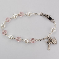 FINE QUALITY YOUTH ROSARY BRACELET BR446LM