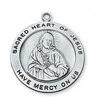 SACRED HEART MEDAL L567