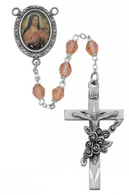 ROSE AURORA ROSARY 6MM R210DF