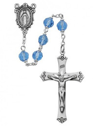 BLUE ROSARY 7MM R408LF