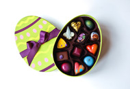 Egg Shaped Box - 12 Piece Assortment