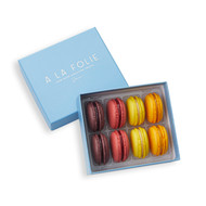 Boxed Macaron, 8-Piece Fruit Assortment