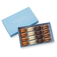Boxed Macaron, 16-Piece Variety Pack