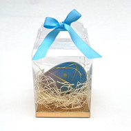 Medium Hand-painted Egg, Milk Chocolate