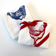 Farm Bird Towel Set