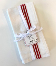 Striped Table Napkins, 4-pack