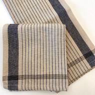 Linen Thin Striped Tea Towel