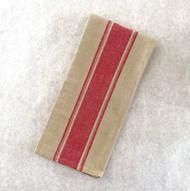 Red Stripe Towel