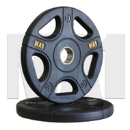 MA1 Pro Olympic Rubber Coated Weight Plate 10kg (Pair)