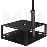MA1 Premium Olympic Bar Holder - 9 Bar Capacity
