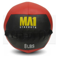 MA1 8lb Wall Ball - Red
