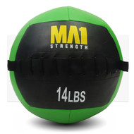 MA1 14lb Wall Ball - Green
