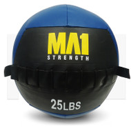 MA1 25lb Wall Ball - Blue