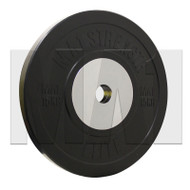 MA1 Elite Bumper Plates Black 15kg (Pairs)