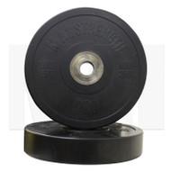 MA1 Pro Bumper Plates Black 25kg (Pairs)