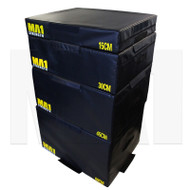 MA1 Foam Plyometric Box Set - 15, 30, 45, 60cm