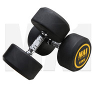 MA1 Commercial Rubber Dumbbells - 35kg (Pairs)