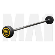 MA1 Fixed Rubber Barbell 15kg