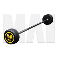 MA1 Fixed Rubber Barbell 35kg