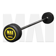 MA1 Fixed Rubber Barbell 40kg