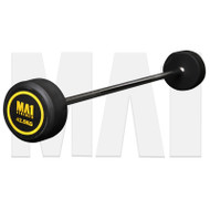 MA1 Fixed Rubber Barbell 42.5kg