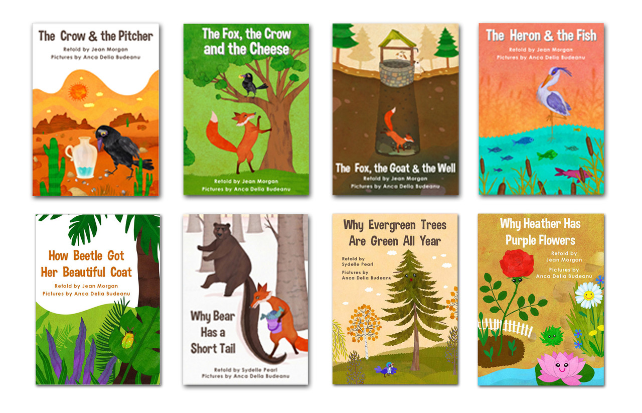 FABLES & FOLKTALES from AROUND THE WORLD : K~3 Book Lists & Websites