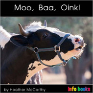 Moo, Baa, Oink! - Level B/2