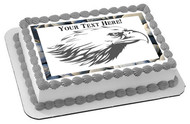 Eagle Head - Edible Cake Topper OR Cupcake Topper, Decor