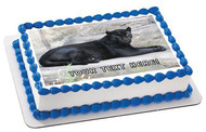 Black Panther - Edible Cake Topper OR Cupcake Topper, Decor