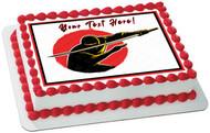 Ninja Character - Edible Cake Topper OR Cupcake Topper, Decor