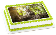 Cute Little Baby Monkey - Edible Cake Topper OR Cupcake Topper, Decor