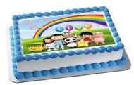 Little Baby Bum - Edible Cake Topper OR Cupcake Topper, Decor
