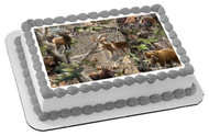 REALTREE (Nr2) - Edible Cake Topper OR Cupcake Topper, Decor