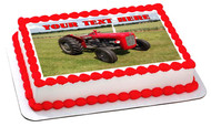 1964 Multi Power British Massey Ferguson MF35X - Edible Cake Topper OR Cupcake Topper, Decor