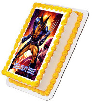 Wolverine - Edible Cake Topper OR Cupcake Topper, Decor