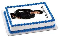 Michael Jackson - Edible Cake Topper OR Cupcake Topper, Decor