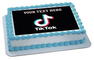 Tic Toc - Edible Cake Topper OR Cupcake Topper, Decor