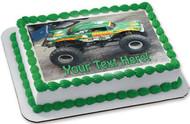 Monster Truck Avenger - Edible Cake Topper OR Cupcake Topper, Decor
