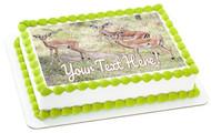 Impalas - Edible Cake Topper OR Cupcake Topper, Decor