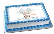 Cute Baby Bear - Edible Cake Topper OR Cupcake Topper, Decor