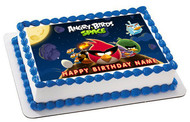 ANGRY BIRDS SPACE - Edible Cake Topper OR Cupcake Topper