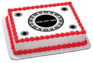 Piano keys Circular - Edible Cake Topper OR Cupcake Topper, Decor