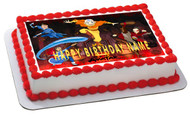 AVATAR AIRBENDER Edible Birthday Cake Topper OR Cupcake Topper, Decor