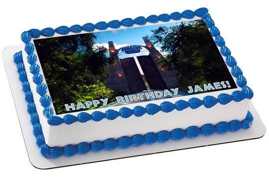 Jurassic World 3 Edible Birthday Cake Topper OR Cupcake Decor Price 795 Image 1