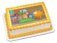Bubble Guppies 1 Edible Birthday Cake Topper OR Cupcake Topper, Decor