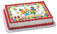 CAILLOU Edible Birthday Cake Topper OR Cupcake Topper, Decor