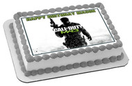 CALL OF DUTY 2 Edible Birthday Cake Topper OR Cupcake Topper, Decor