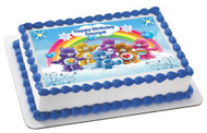 CARE BEARS Edible Birthday Cake Topper OR Cupcake Topper, Decor