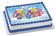 CARE BEARS Edible Birthday Cake Topper OR Cupcake Topper, Decor